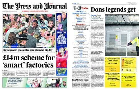 The Press and Journal Moray – May 19, 2018