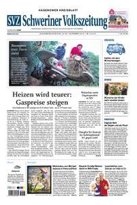 Schweriner Volkszeitung Hagenower Kreisblatt - 24. November 2018