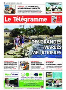 Le Télégramme Brest Abers Iroise – 31 mars 2021