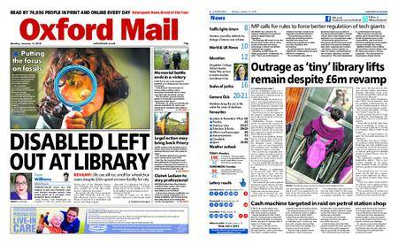 Oxford Mail – January 15, 2018