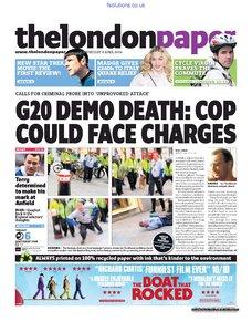 The London Paper 8 April 2009