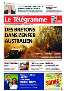 Le Télégramme Quimper – 14 janvier 2020