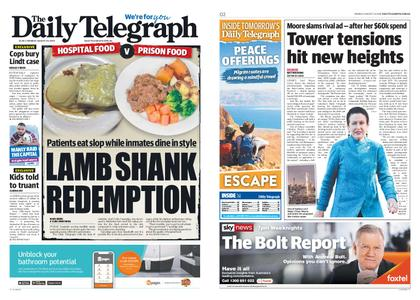 The Daily Telegraph (Sydney) – August 26, 2019