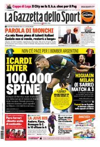 La Gazzetta dello Sport Roma – 10 gennaio 2019