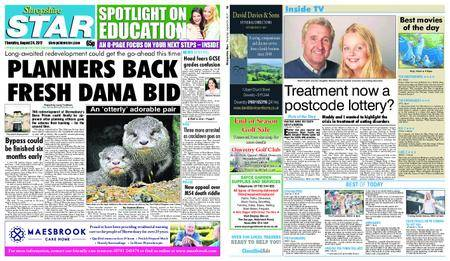 Shropshire Star Shrewsbury Edition – August 24, 2017