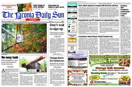 The Laconia Daily Sun – November 01, 2017