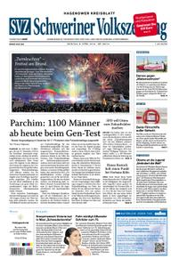 Schweriner Volkszeitung Hagenower Kreisblatt - 08. April 2019
