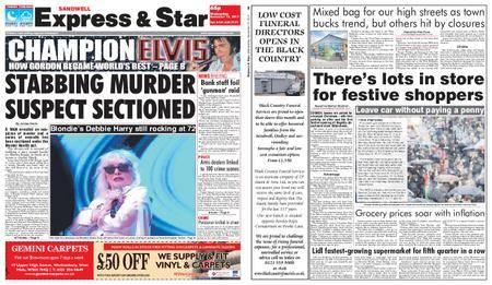 Express and Star Sandwell Edition – November 15, 2017