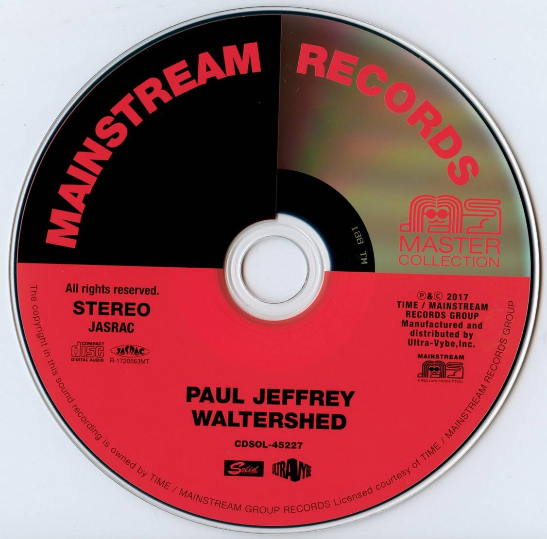 Paul Jeffrey - Watershed (1971) {2017 Japan Mainstream Records Master Collection Series CDSOL-45227}