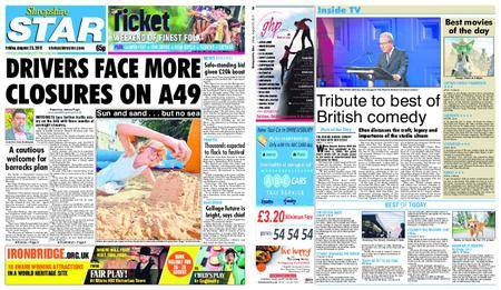 Shropshire Star Shrewsbury Edition – August 25, 2017