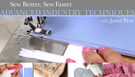Craftsy - Sew Better, Sew Faster: Advanced Industry Techniques