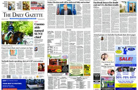 The Daily Gazette – August 22, 2020
