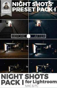 CreativeMarket - Night Shot Lightroom Preset Pack I