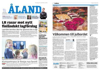 Ålandstidningen – 29 november 2018