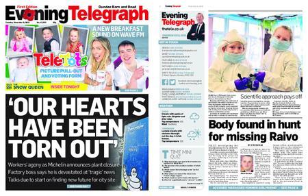 Evening Telegraph First Edition – November 06, 2018