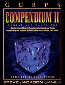 GURPS Compendium II: Campaigns and Combat (GURPS: Generic Universal Role Playing System)