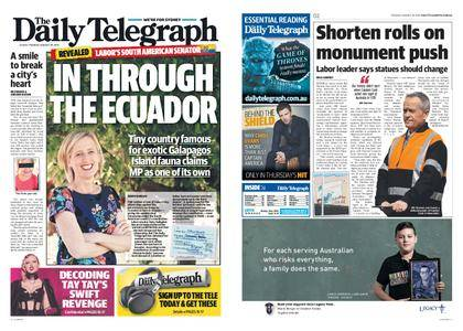 The Daily Telegraph (Sydney) – August 29, 2017