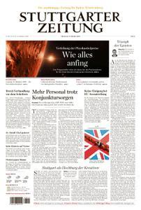 Stuttgarter Zeitung Blick vom Fernsehturm - 09. Oktober 2019