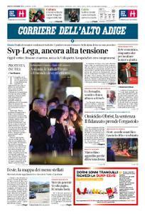 Corriere dell'Alto Adige – 22 dicembre 2018
