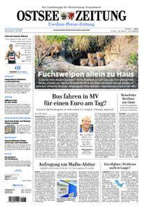 Ostsee Zeitung Wolgast - 03. Mai 2018
