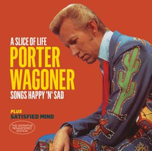 Porter Wagoner - A Slice Of Life (1962) & Satisfied Mind (1957) + 6 Bonus Tracks {Hoodoo Records 263545 rel 2016}