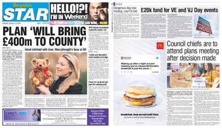 Shropshire Star Last Telford Edition – January 18, 2020