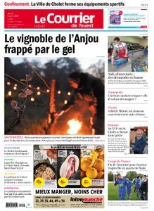 Le Courrier de l'Ouest Cholet – 08 avril 2021