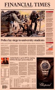 Financial Times Europe – 19 November 2019