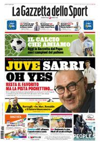 La Gazzetta dello Sport Roma – 24 maggio 2019