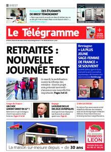 Le Télégramme Brest Abers Iroise – 10 décembre 2019