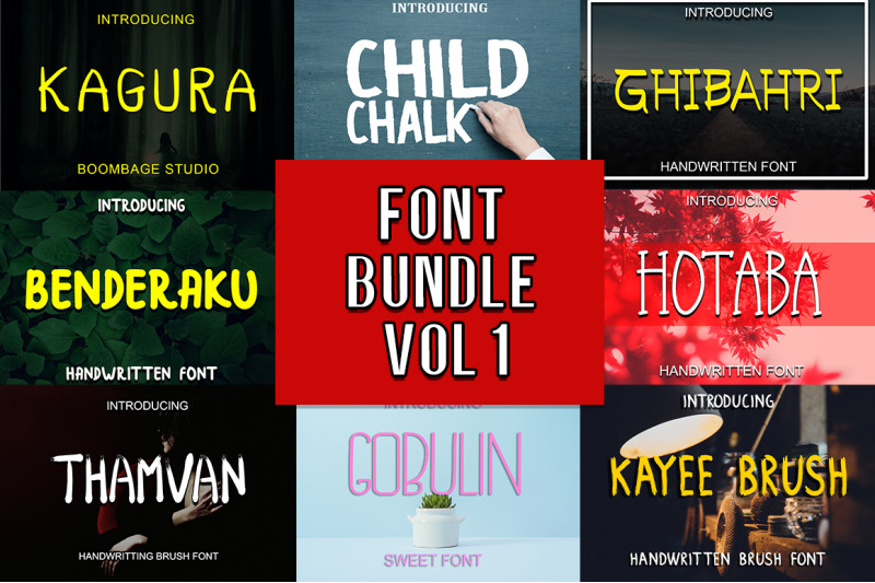 Bundle handwritten Vol 1 3575503