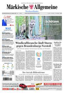 Märkische Allgemeine Westhavelländer - 20. Oktober 2018