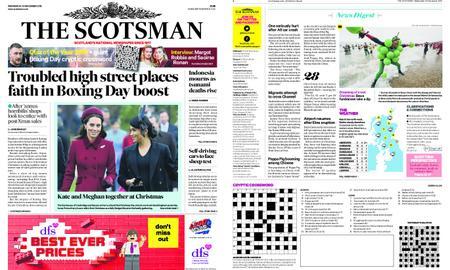 The Scotsman – December 26, 2018