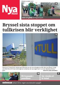 Nya Åland – 24 mars 2019