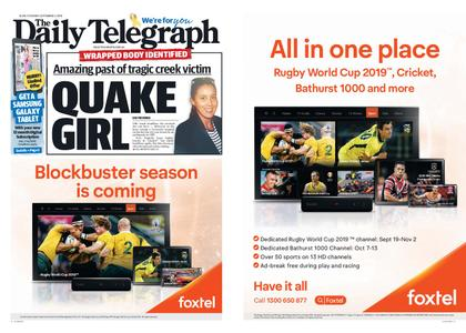 The Daily Telegraph (Sydney) – September 03, 2019