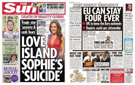 The Sun UK – 22 June 2018