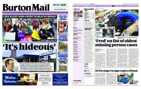 Burton Mail – November 23, 2017