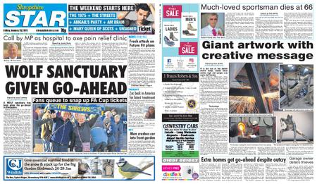 Shropshire Star Shrewsbury Edition – January 18, 2019