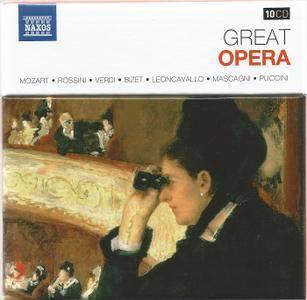 VA - Naxos 25th Anniversary: Great Opera (2012) (10 CD Box Set)