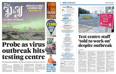 The Press and Journal Moray – January 13, 2021