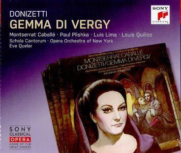 Donizetti - Gemma Di Vergy - Caballé - Queler ( 2 CD 2017 )