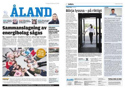 Ålandstidningen – 14 februari 2020