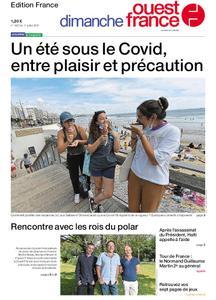 Ouest-France Édition France – 11 juillet 2021