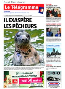 Le Télégramme Brest Abers Iroise – 29 mai 2019