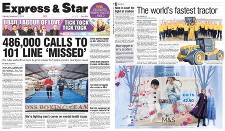 Express and Star City Edition – November 23, 2019