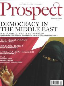 Prospect Magazine - April 2003