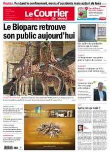 Le Courrier de l'Ouest Angers – 16 mai 2020