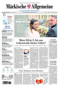 Märkische Allgemeine Luckenwalder Rundschau - 12. Februar 2019