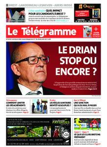 Le Télégramme Brest Abers Iroise – 08 juin 2020