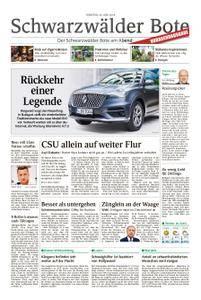 Schwarzwälder Bote Hechingen - 26. Juni 2018